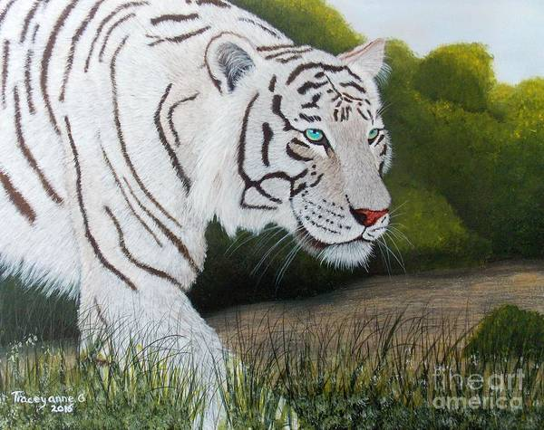 Painting - Just Looking by Tracey Goodwin