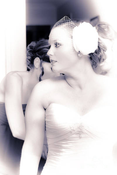 Dress Fitting Photograph - Just Moments Before Walking Down The Aisle by Jorgo Photography - Wall Art Gallery