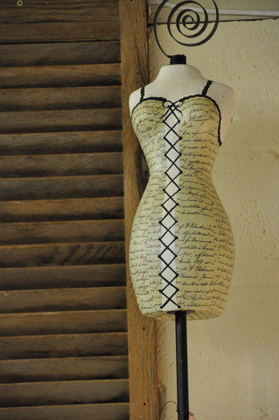 Dress Form Photograph - Just Perfect For Me by Jan Amiss Photography