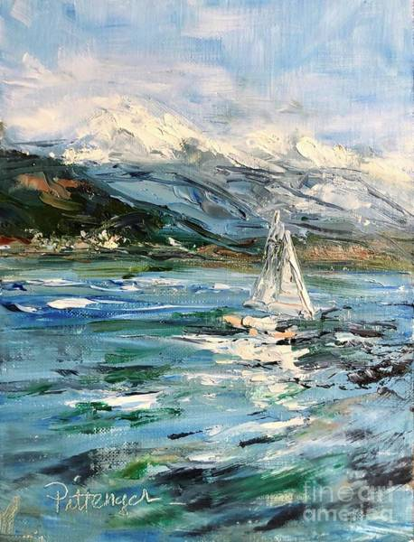 Painting - Just Sailing by Lori Pittenger