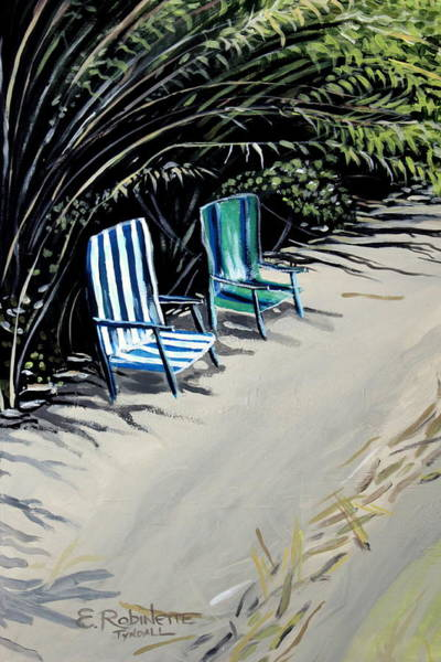 Painting - Just The Two Of Us by Elizabeth Robinette Tyndall