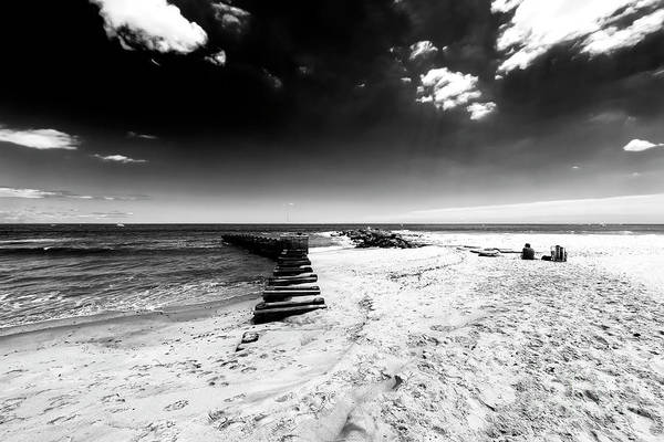 Down The Shore Photograph - Just The Two Of Us by John Rizzuto