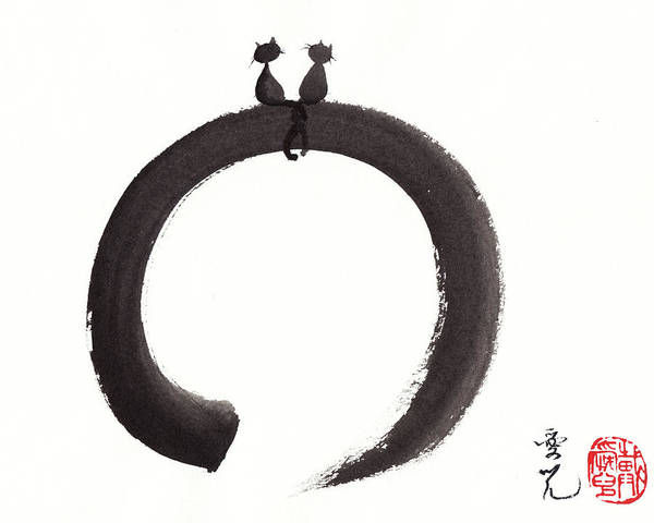 Painting - Just The Two Of Us by Oiyee At Oystudio