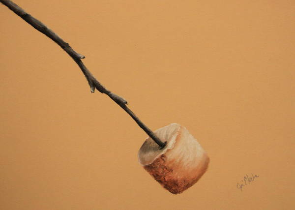 Pastel Drawing Painting - Just The Way I Like It by Joi Electa