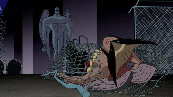 Black Digital Art - Justice League by Maye Loeser