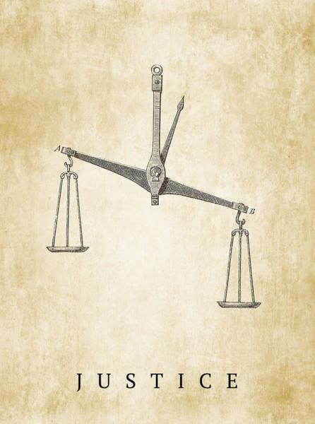 Subjective Digital Art - Justice Poster by Greg Noblin