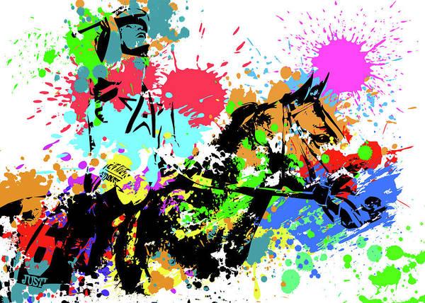 Wall Art - Digital Art - Justify Pop Art by Ricky Barnard