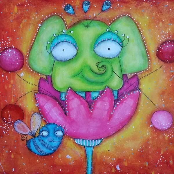 Joyous Mixed Media - Justinbeeberry And Trompycyrus by Barbara Orenya