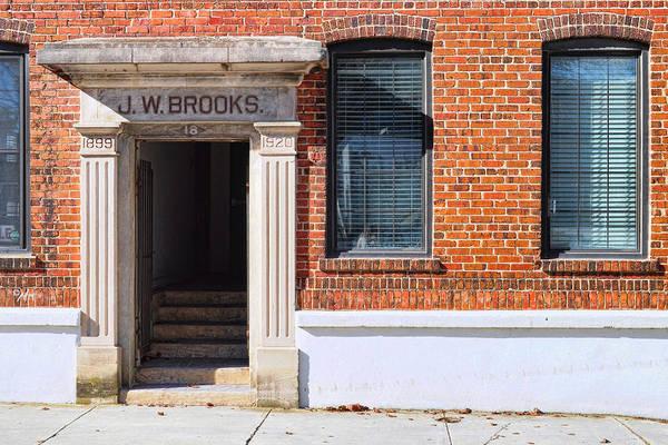 Photograph - J.w. Brooks by Paulette B Wright