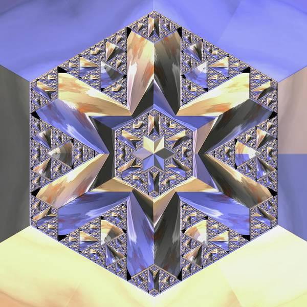 Digital Art - Jyoti Ahau 197 by Robert Thalmeier