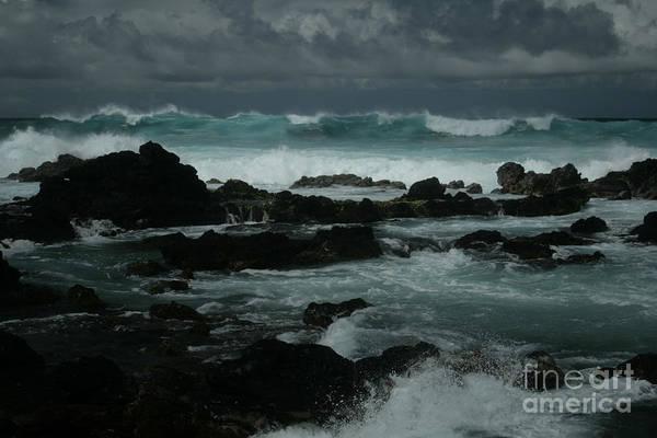 Photograph - Ka Makani Kaiili Aloha Hookipa Maui Hawaii  by Sharon Mau