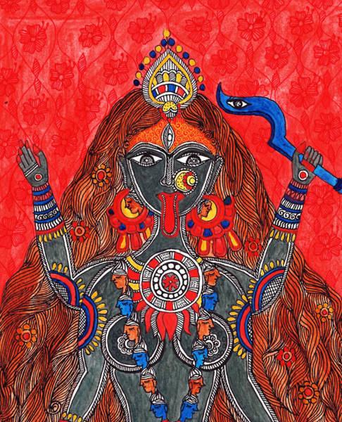 Kaali- The Fierce Form Art Print