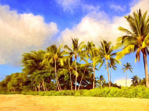 Painting - Kaanapali Beach Maui by Dominic Piperata