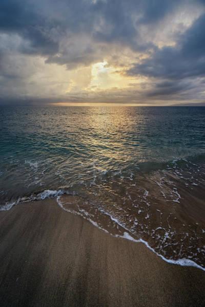 Photograph - Ka'anapali Beach Sunset by Christopher Johnson