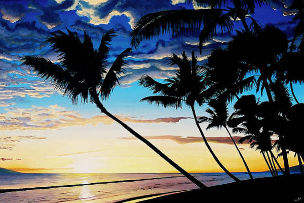 Painting - Ka'anapali Sunset by Pierre Leclerc Photography
