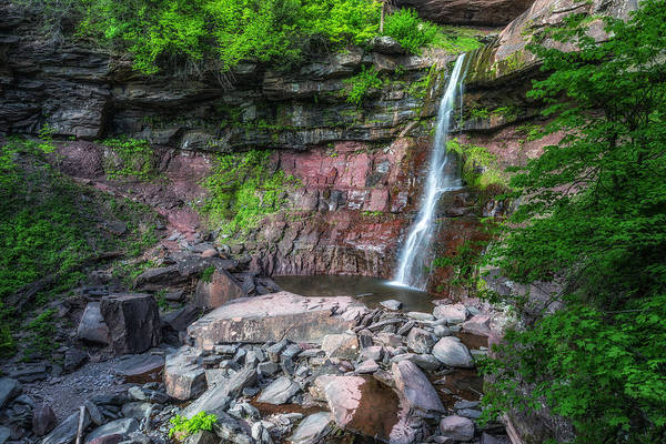Wall Art - Photograph - Kaaterskill Falls 2 by Mark Papke