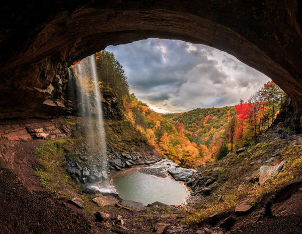 Photograph - Kaaterskill Falls by Anthony Fields
