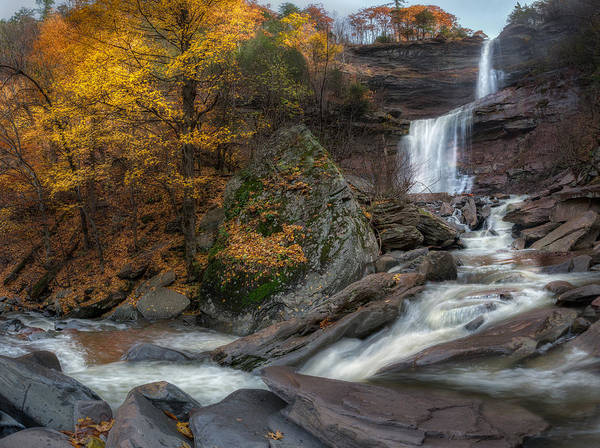 Kaaterskill Clove Photograph - Kaaterskill Falls Autumn by Bill Wakeley
