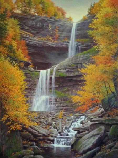 Wall Art - Painting - Kaaterskill Falls by Barry DeBaun