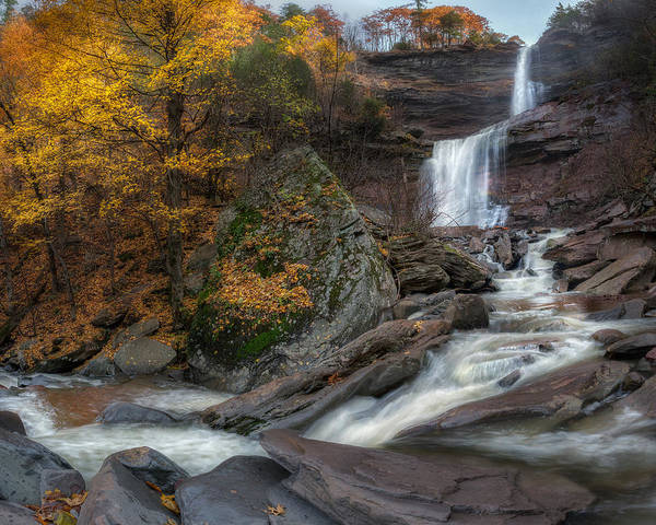 Kaaterskill Clove Photograph - Kaaterskill Falls New York by Bill Wakeley