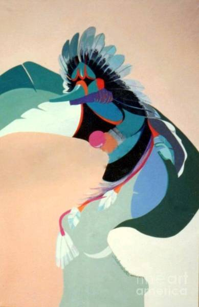 Painting - Kachina 2 by Marlene Burns
