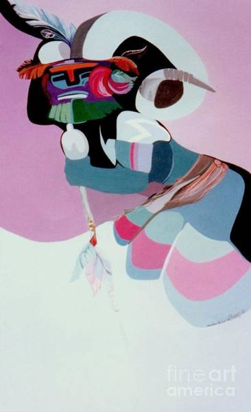Painting - Kachina 6 by Marlene Burns