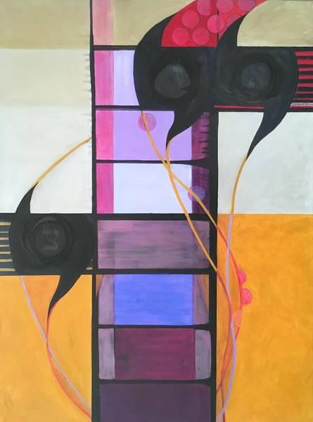Painting - Kaddish Yatom Custom by Marlene Burns