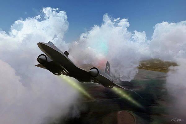 Supersonic Speed Wall Art - Digital Art - Kadena Cobra by Peter Chilelli