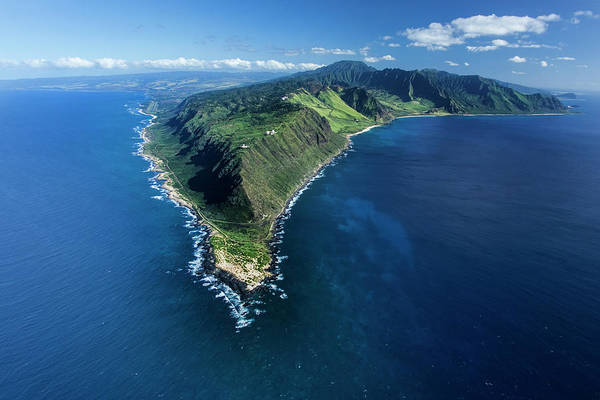 West Point Photograph - Kaena Point by Sean Davey
