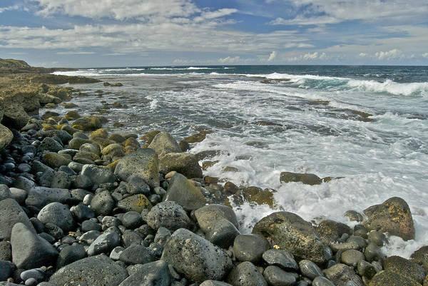 Kaena Photograph - Kaena Point Shoreline by Michael Peychich