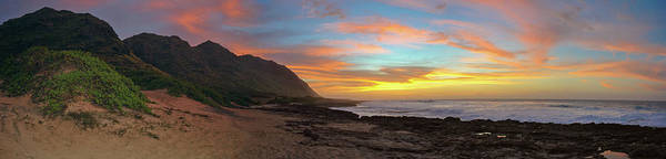 Kaena Photograph - Ka'ena Sunset by Megan Martens