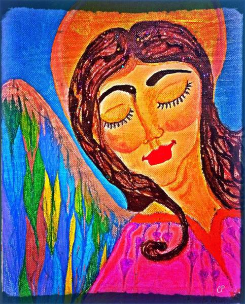 Painting - Kaeylarae by Christine Paris