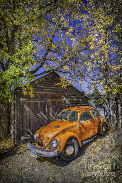 Volkswagen Kafer Photograph - Kafer Beetle by Bitter Buffalo Photography