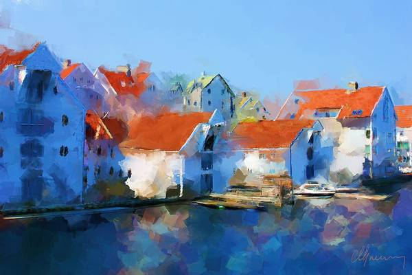 Kunst Wall Art - Painting - Kai Haugesund  by Michael Greenaway