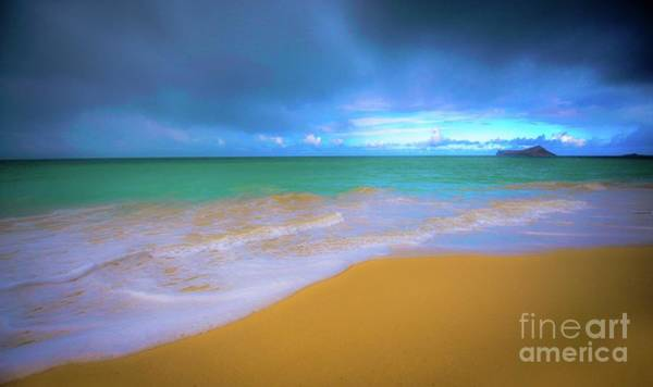 Photograph - Seascape, Kailua - Lanikai, Oahu, Hawaii by D Davila
