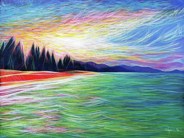 Painting - Kailua Surreal by Angela Treat Lyon
