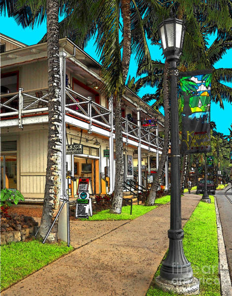 Photograph - Kailua Village - Kona Hawaii by James Eddy