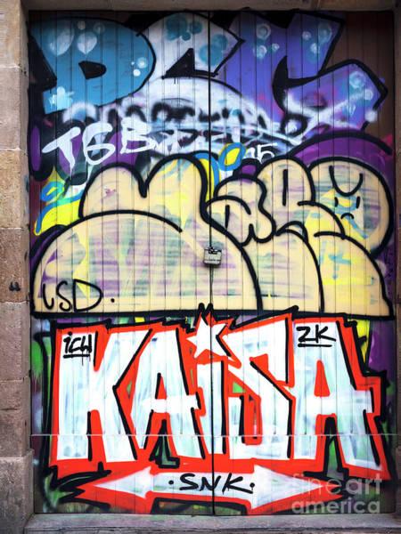 Photograph - Kaisa In Barcelona by John Rizzuto