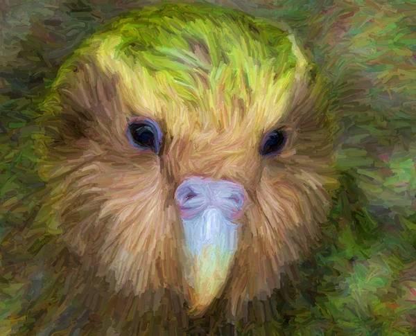 Digital Art - Kakapo by Caito Junqueira