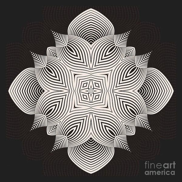 Kaleidoscope Wall Art - Digital Art - Kal - 71c89 by Variance Collections