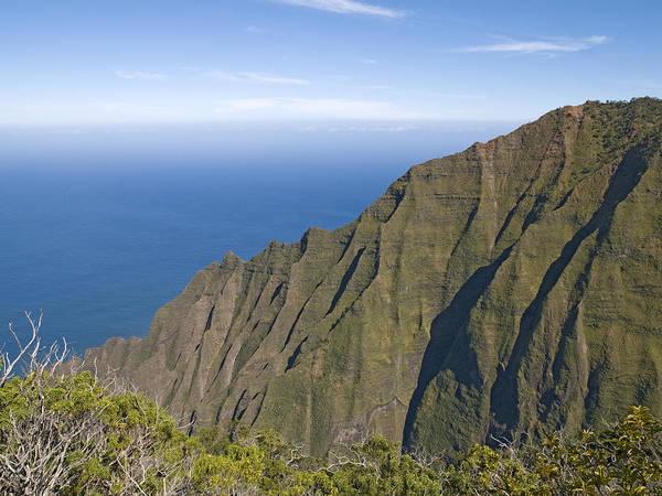 Wall Art - Photograph - Kalalau Lookout Over The Na Pali Coast Kokee State Park Kauai Hawaii by Brendan Reals