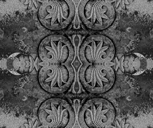 Granite Digital Art - Kaleidoscope 1907 by Darin Baker