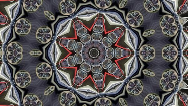 Dashboard Digital Art - Kaleidoscope 79 by Ron Bissett