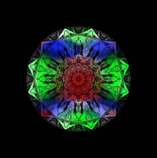 Digital Art - Kaleidoscope by Deleas Kilgore