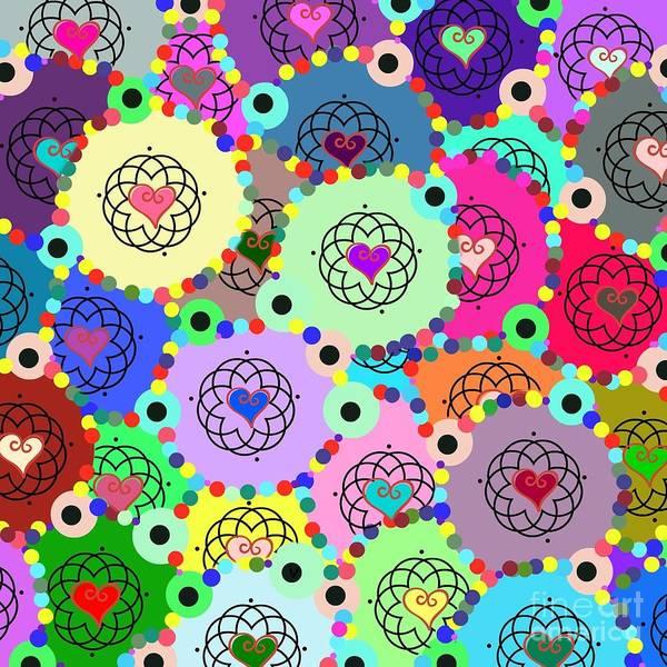 Digital Art - Kaleidoscope by Diamante Lavendar
