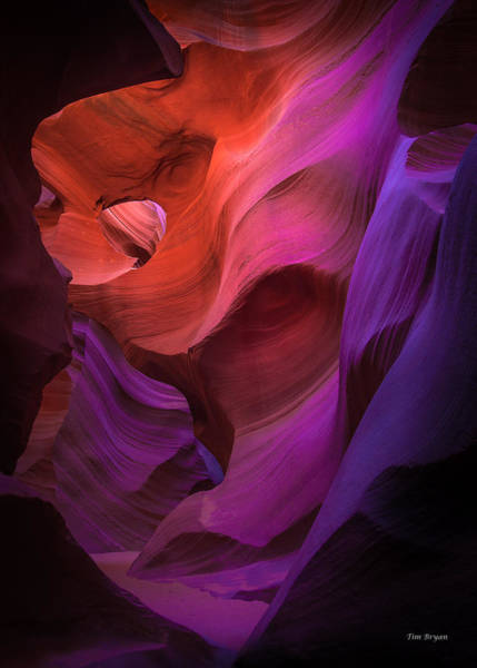 Photograph - Kaleidoscope-lower Antelope Canyon by Tim Bryan
