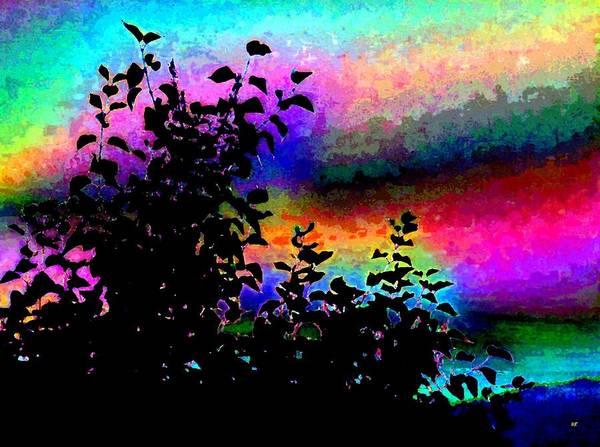 Wall Art - Digital Art - Kaleidoscopic Sky by Will Borden