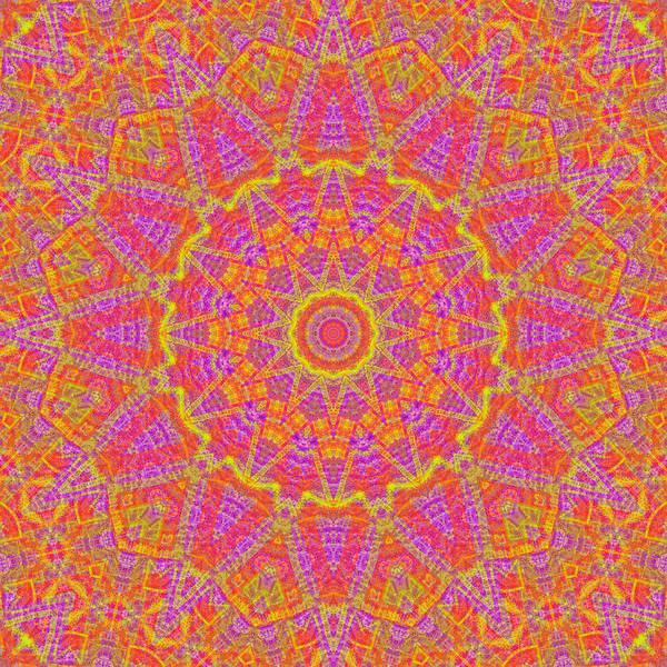 Digital Art - Kaleidoscopic Volpiana 1  by Caito Junqueira