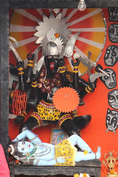 Wall Art - Photograph - Kali Ma, Rishikesh by Jennifer Mazzucco