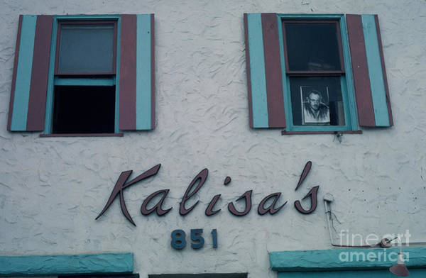 Photograph - Kalisa's 851 Cannery Row Monterey by California Views Archives Mr Pat Hathaway Archives
